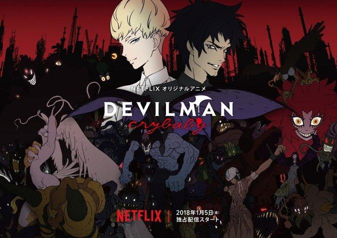 Devilman-Netflix. Enero.2018.